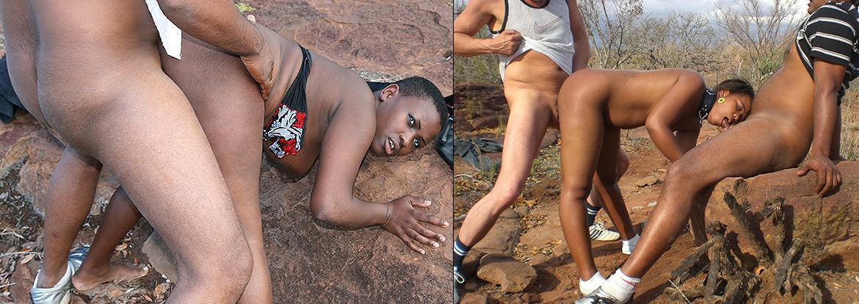 Африканцы Занимаются Сексом Группой На Замле